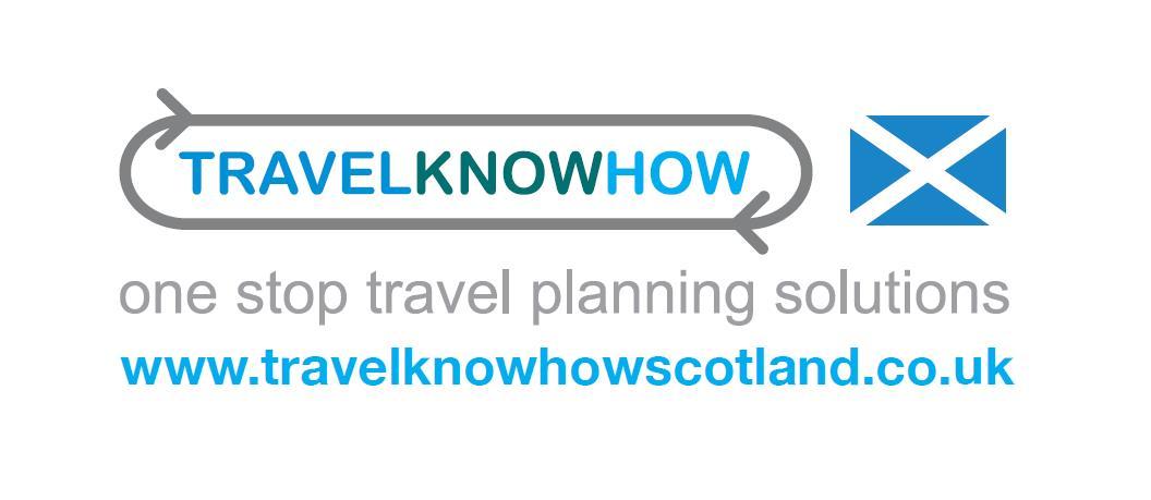 Travelknowhow Scotland logo